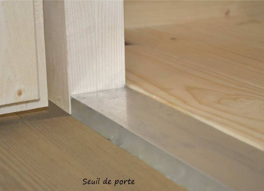 Abri de Jardin Nevers 4.60 m2 / 28 mm
