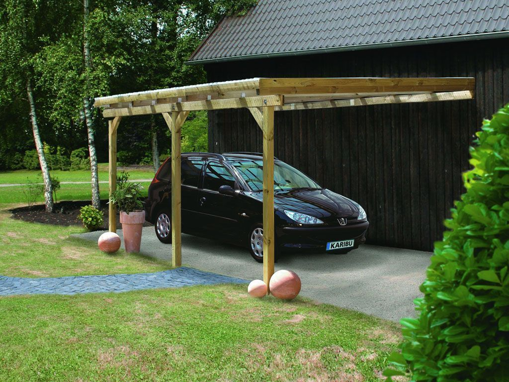 carport adosse eco 2 abris de jardin. Black Bedroom Furniture Sets. Home Design Ideas