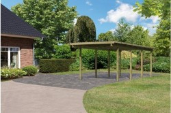 CARPORT BOIS 1 PLACE ECO 2