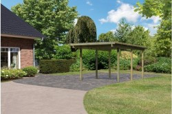 CARPORT BOIS 1 PLACE ECO
