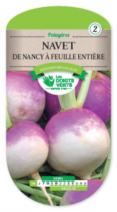NAVET de Nancy feuille entiere