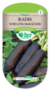 RADIS noir long Maraicher