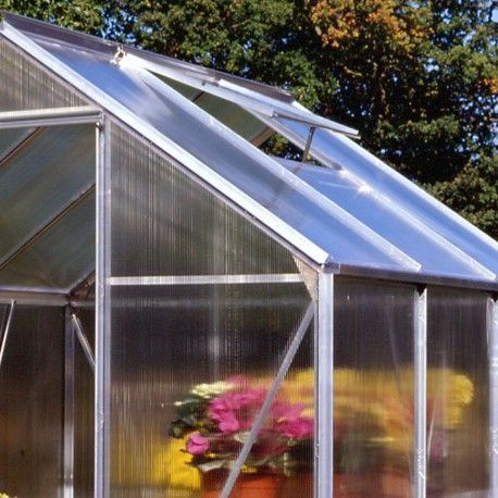 Serre de jardin HALLS Popular 5 m2 + polycarbonate 4 mm