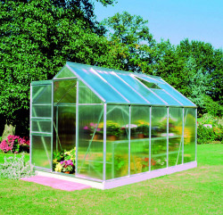 Serre de jardin HALLS Popular 6,20 m2 + polycarbonate 4 mm