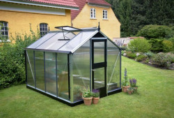 Serre de jardin JULIANA compact 6,6 m² + polycarbonate 10 mm