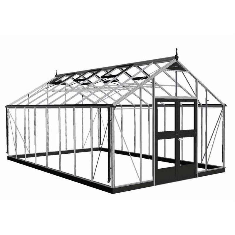 serre de jardin juliana gartner 16 2 m2 polycarbonate 10. Black Bedroom Furniture Sets. Home Design Ideas