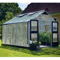 Serre de jardin JULIANA Premium 10,9 m² + polycarbonate 10 mm