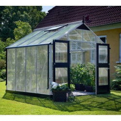 Serre de jardin JULIANA Premium 8,8 m² + polycarbonate 10 mm
