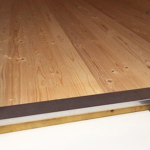 Abri de jardin balmoral m2 44 mm plancher bois abris de jardin - Seuil de porte extra plat ...
